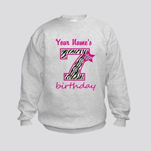 7th Birthday - Personalized Sweatshirt