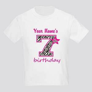 7th Birthday - Personalized T-Shirt