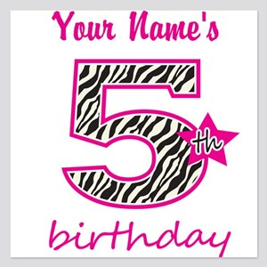 5th birthday invitations and announcements cafepress
