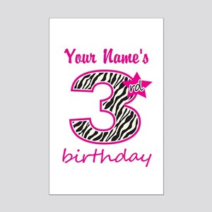 3rd Birthday - Personalized Posters