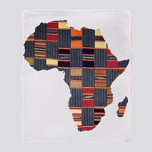 Ethnic African Tapestry Throw Blanket