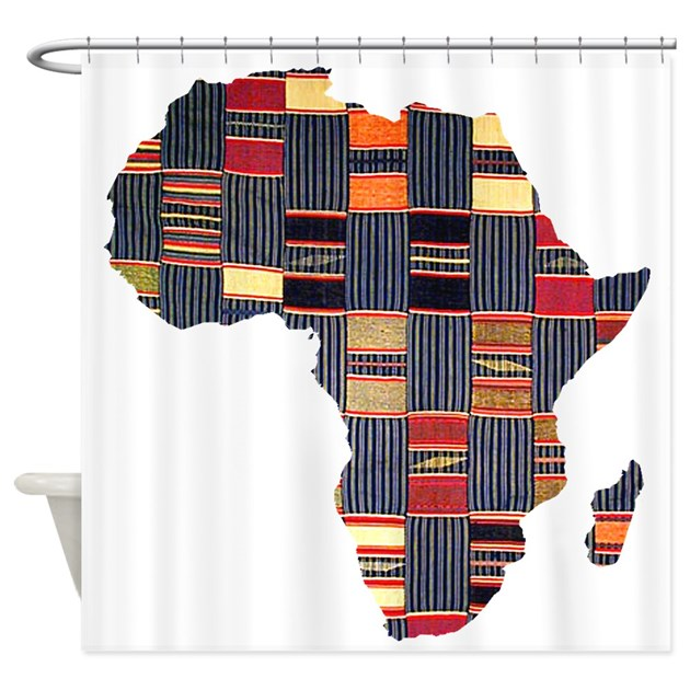 Kitchen Curtain Ideas South Africa: Ethnic African Tapestry Shower Curtain By Culturegraphics