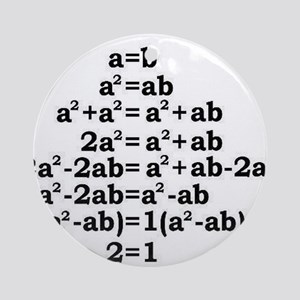 math genius Ornament (Round)