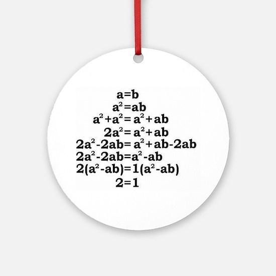 math genius Ornament (Round)