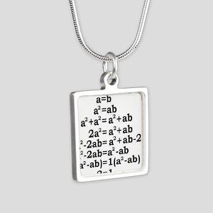math genius Necklaces