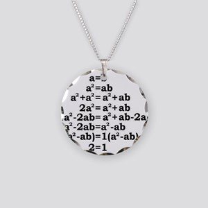 math genius Necklace