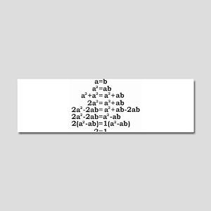 math genius Car Magnet 10 x 3