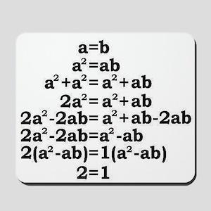 math genius Mousepad