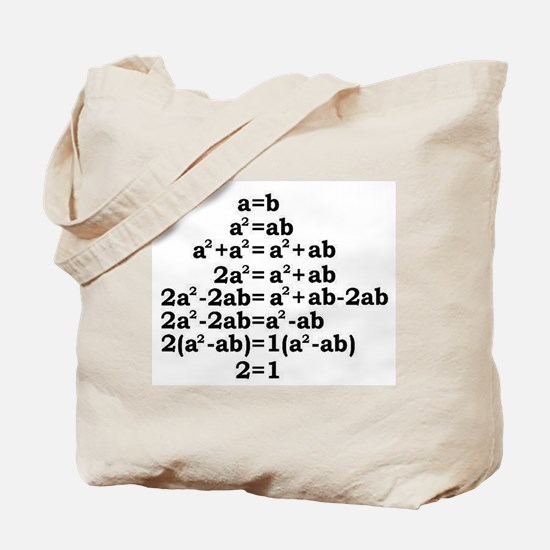 math genius Tote Bag