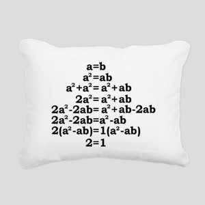 math genius Rectangular Canvas Pillow