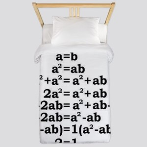 math genius Twin Duvet