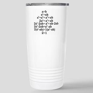 math genius Travel Mug