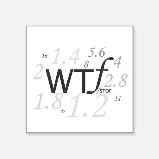 WTF - which ever F works for you is good to me. St