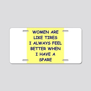 WOMEN Aluminum License Plate