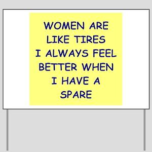 WOMEN Yard Sign