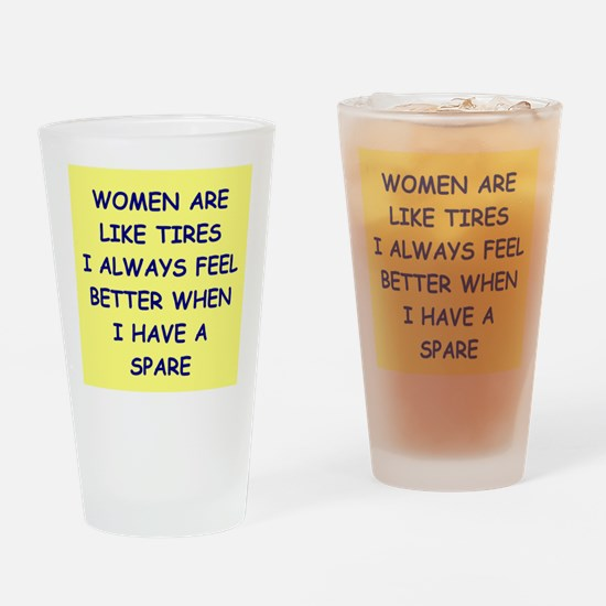 WOMEN Drinking Glass