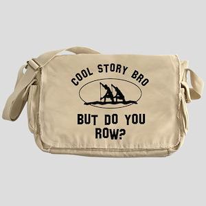 Rowing designs Messenger Bag