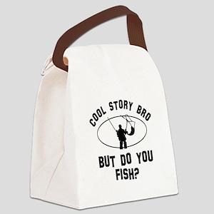Fish designs Canvas Lunch Bag