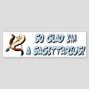 """""""Sagittarius The Archer"""" Bumper Sticker"""