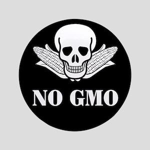 "NO GMO 3.5"" Button"