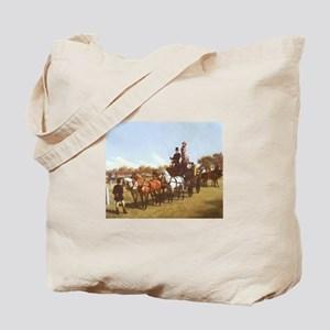 Carriage Contest Painting Tote Bag