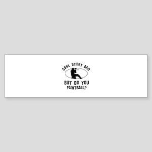 Paintball designs Sticker (Bumper)