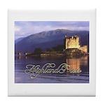 Highland Press Tile Coaster