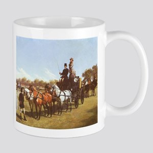 Carriage Contest Painting Mug
