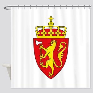 Coat of arms of Norway Shower Curtain