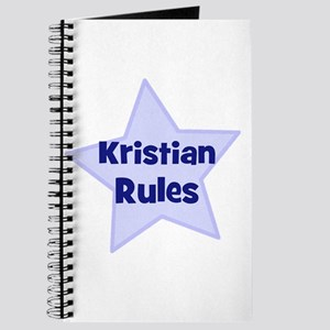 Kristian Rules Journal