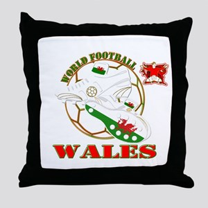 Wales World Football Throw Pillow