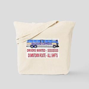 BAGHDAD EXPRESS Tote Bag