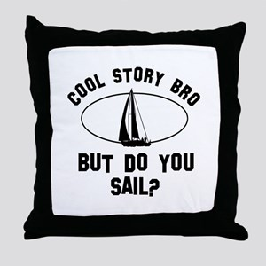 Sail designs Throw Pillow