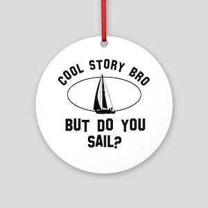 Sail designs Ornament (Round)