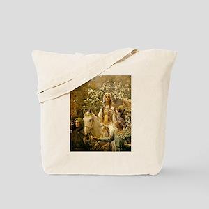 Queen Guinevre Tote Bag