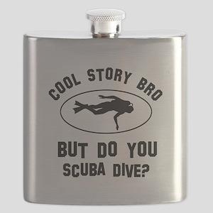 Scuba Dive designs Flask