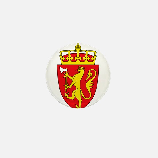 Coat of arms of Norway Mini Button