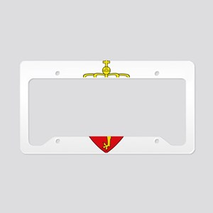 Coat of arms of Norway License Plate Holder