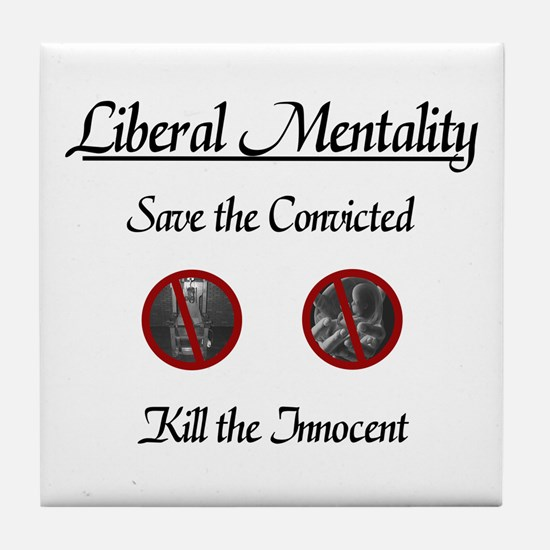 Save the Convicted Tile Coaster