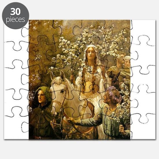 Queen Guinevre Puzzle
