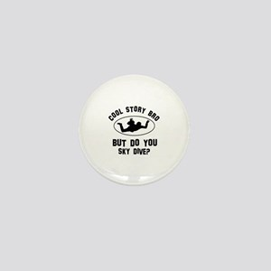 Sky Dive designs Mini Button