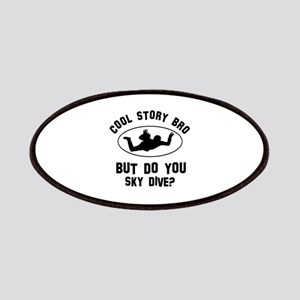 Sky Dive designs Patches