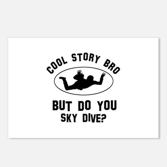 Sky Dive designs Postcards (Package of 8)