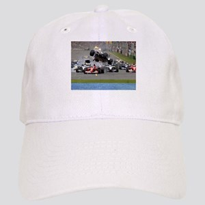 F1 Crash Baseball Cap