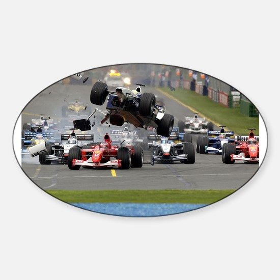 F1 Crash Decal