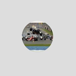 F1 Crash Mini Button