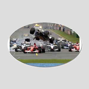 F1 Crash Wall Decal