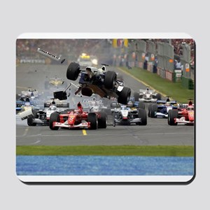 F1 Crash Mousepad