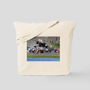 F1 Crash Tote Bag
