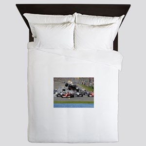 F1 Crash Queen Duvet